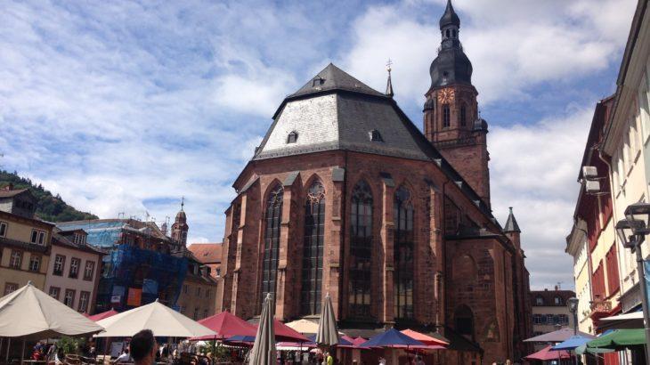 ハイデルベルク城に行くならバスよりも歩いていくのがおすすめ!所要時間30分